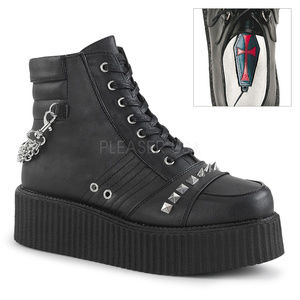 Other - Mens Platform Lace Up Oxford Creeper Boot Shoes